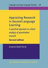 Appraising Research in Second Language Learning: A practical approach to critica