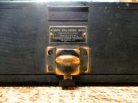 Vintage/Antique Kodak Wooden Enlarger Base with Dark Storage Compartments