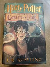 ** Harry Potter and the Goblet of Fire ** FIRST EDITION Hardcover Rowling