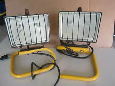 500W HEAVY DUTY PORTABLE HALOGEN WORK LIGHTS FOR JOB SITES OR OTHER BOTH WORK