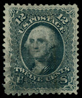 MOMEN: US STAMPS #85E USED PF CERTIFICATE