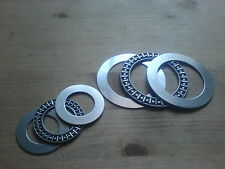 2 Axial-Nadellager Drucklager Axial-Rollenlager AXK3047 inkl. AS3047  30x47x4 mm