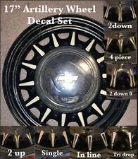 17 inch ARTILLERY WHEEL PINSTRIPING PIN STRIPING CHEVY BUICK DODGE