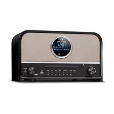 Retro DAB+ Digitalradio Stereoanlage UKW Tuner Bluetooth CD Player USB MP3 Timer