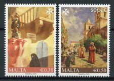 Malta Art Stamps 2020 MNH Artworks in National Collections SEPAC 2v Set
