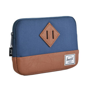 Case Door IPAD 9 1/8x6 11/16in Man Woman HERSCHEL Men Woman Black Blue HRTGEmini