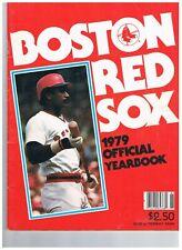 Boston Red Sox Yearbook 1979 Yastrzemski Evans Fisk Lynn Rice Scott Zimmer