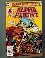 Alpha Flight #1 + X-Force #1 + New Mutants #1 + X-Factor #1 CGC ALL 1st Print I5