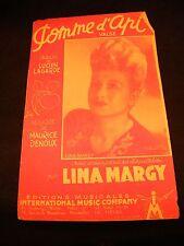 Partition Pomme d'api Lina Margy Denoux Music Sheet