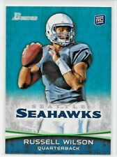 "2012 12 BOWMAN FOOTBALL TOPPS RUSSELL WILSON ROOKIE CARD #116 ""SEAHAWKS"""