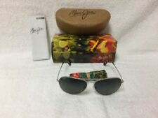 c9487bd6a6f Maui Jim Silver Unisex Sunglasses for sale