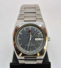 Vintage Rado Electrosonic Swiss 12j tuning fork watch ESA9164