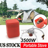 3500W Outdoor Picnic Gas Jet Portable Stove Cooking Hiking Camping Gas Burner