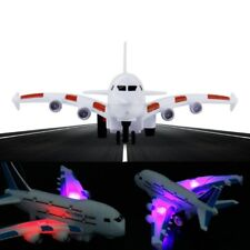 Kids Airbus Air Bus Electric Airplane Toy Moving Flashing Sounds Lights Aircraft