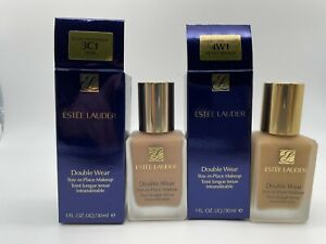 Estee Lauder Double Wear Stay In Place Makeup 1oz/30ml~Choose your shade