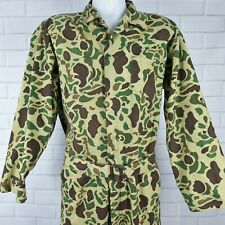 Vintage Camo Jumpsuit Black Sheep Hunting Clothing Camouflage Coveralls MENS L