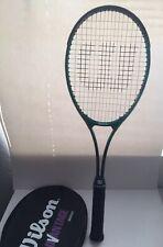 Wilson Advantage Midsize L4 4 1/2 Tennis Racket Super High Beam Series w/ Cover