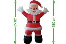 Inflatable Life Size Santa 5ft 10 / 180cm Brand New