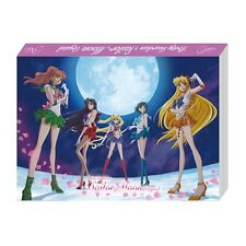 Sailor Moon Prism Memo Notebook A6 20th Anniversary BANDAI Japan Very Rare All