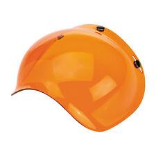 Biltwell Bubble Visiera, Amber/Arancione, per jethelme/anti zoccolo!