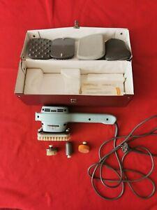 Super Massator Picco 7 Kurt Stoll Vibration Massagegerät mit Zubehör und Koffer
