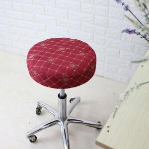 15-16'' 40cm Elastic Bar Stool Covers Round Chair Seat Cushion Slip Covers