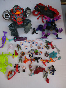 Mighty Max Bluebird Toys HUGE Big Lot Mattel Action Figure Toy Playset Monster