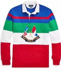 NWT XL Polo Ralph Lauren Cross flags Rugby CP 93 Sailing Limited Stadium Yacht