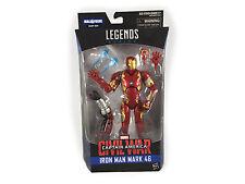 New Marvel Legends Series Civil War Iron Man Mark 46 BAF 6 Inch Action Toy