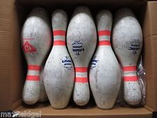 10-pak Bowling Pins-target practice RIFLE PISTOL or art-CRAFTS - BUY FEWER BELOW