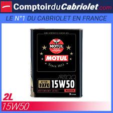 Aceite Motul 2100 15W50 - 2L para motor 4 Tiempos
