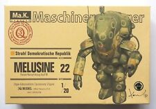 "WAVE Ma.K. 1/20 ""Melusine"" Maschinen Krieger 3Q model No.22 scale model kit"