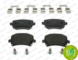 FERODO BRAKE PADS REAR For AUDI A4 8E(B7) 2005-2008 - 2.0L 4CYL - FDB1636