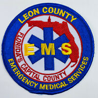 Leon County Emergency Medical Services EMS Florida FL Patch (A5)