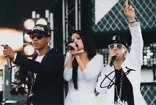 Dappy and Fazer Hand Signed 12x8 Photo - N Dubz - Music Autograph 3.