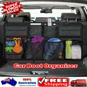 Car Seat Back Organiser Hanging Pouch Bag SUV Hatchback Trunk Boot Storage Bags