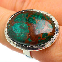 Large Shattuckite 925 Sterling Silver Ring Size 9 Ana Co Jewelry R41885F