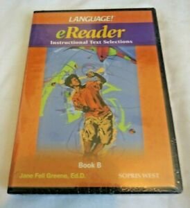 Sopris West Language eReader Instructional Text Selections Book B [SEALED]