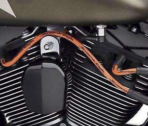 Harley Davidson Screamin Eagle 10mm Phat Spark Plug Wires Orange Dyna 1999-2017