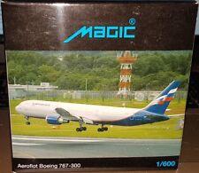 HERPA MAGIC WINGS 470018 AVION BOEING 767-300 AEROFLOT RUSSIA 1:600 NEUF OVP