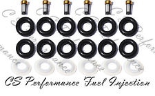Olds Chevy Fuel Injector Repair Rebuild Service Kit ORings Filters Caps CSKBO36