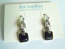 Boucle d'oreille cristal Carré/Earrings 10