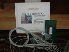 SNARE BUILDERS KIT w/ VIDEO, snares, traps, trapping