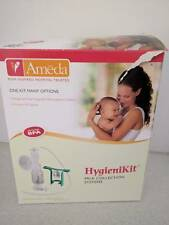 Ameda DUAL hygiene kit with one hand manual breast. UNUSED in ORIGINAL SEALED pk