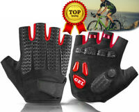 Ounce Cycling Short Half Finger Gloves Gel Liquid Silicone Shockproof Gloves