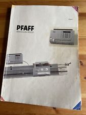 Pfaff Electronic 6000 Knitting Machine Instructions
