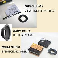 Pack withGenuine [NIKON NEPS1] Adapter + DK-17 Eyepiece+DK-19 Rubber Eyecup