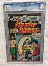 Wonder Woman #221 1976 CGC Graded 8.0 1019006008 Bondage Cover