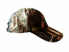 MENS STEALTH CAMO SHOWERPROOF BASEBALL CAP gents L-XL hat shooting fishing hikes