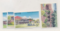 Nevis Stamps Scott #280 To 283, Mint Never Hinged, Specimens